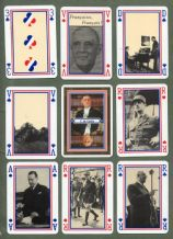 Collectable vintage France playing cards Charles de Gaulle By Grimaud